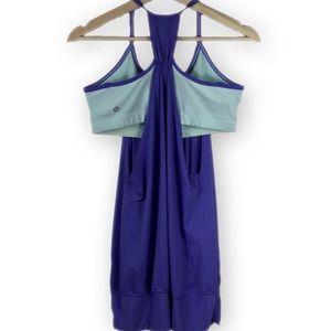 lululemon athletica Tops - Ω Lululemon No Limits Tank Power Purple Aquamarine